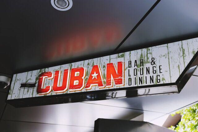 The Cuban Bar and Lounge Dining Broadbeach