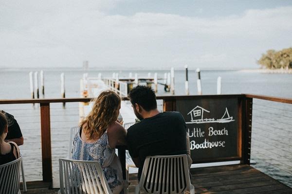 Little Beach Boathouse, Nelson Bay